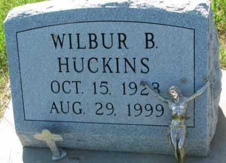 HUCKINS, WILBUR B. - Buffalo County, South Dakota   WILBUR B. HUCKINS - South Dakota Gravestone Photos