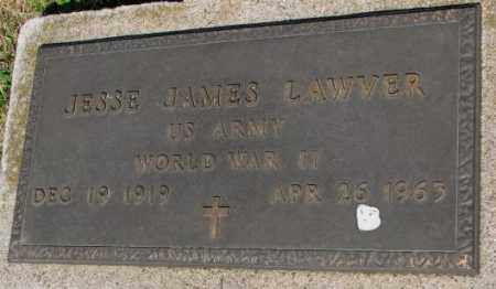 LAWVER, JESSE JAMES - Buffalo County, South Dakota | JESSE JAMES LAWVER - South Dakota Gravestone Photos