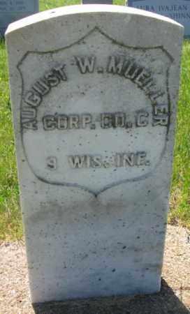 MUELLER, AUGUST W. - Buffalo County, South Dakota | AUGUST W. MUELLER - South Dakota Gravestone Photos