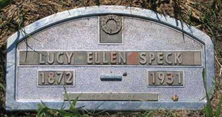 SPECK, LUCY ELLEN - Buffalo County, South Dakota | LUCY ELLEN SPECK - South Dakota Gravestone Photos