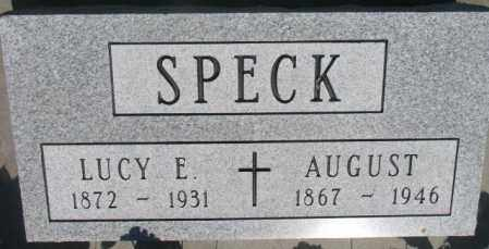SPECK, AUGUST - Buffalo County, South Dakota | AUGUST SPECK - South Dakota Gravestone Photos