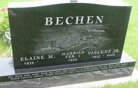 BECHEN, VINCENT JR. - Charles Mix County, South Dakota | VINCENT JR. BECHEN - South Dakota Gravestone Photos