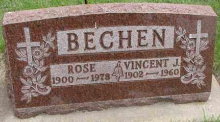 BECHEN, ROSE - Charles Mix County, South Dakota | ROSE BECHEN - South Dakota Gravestone Photos