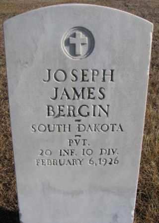 BERGIN, JOSEPH JAMES - Charles Mix County, South Dakota | JOSEPH JAMES BERGIN - South Dakota Gravestone Photos