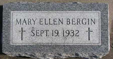 BERGIN, MARY ELLEN - Charles Mix County, South Dakota | MARY ELLEN BERGIN - South Dakota Gravestone Photos