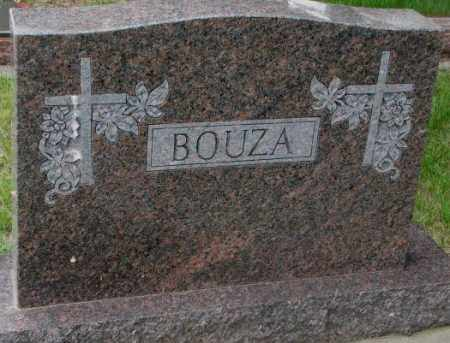 BOUZA, PLOT - Charles Mix County, South Dakota | PLOT BOUZA - South Dakota Gravestone Photos