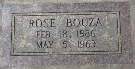 BOUZA, ROSE - Charles Mix County, South Dakota | ROSE BOUZA - South Dakota Gravestone Photos