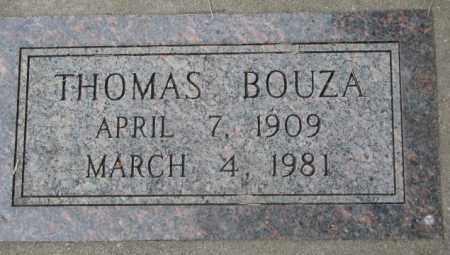 BOUZA, THOMAS - Charles Mix County, South Dakota | THOMAS BOUZA - South Dakota Gravestone Photos
