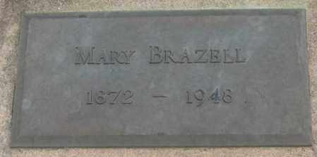 BRAZELL, MARY - Charles Mix County, South Dakota | MARY BRAZELL - South Dakota Gravestone Photos