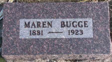 BUGGE, MAREN - Charles Mix County, South Dakota   MAREN BUGGE - South Dakota Gravestone Photos