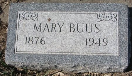 BUUS, MARY CHRISTINE - Charles Mix County, South Dakota | MARY CHRISTINE BUUS - South Dakota Gravestone Photos
