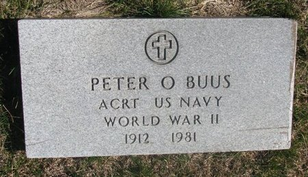 BUUS, PETER O. - Charles Mix County, South Dakota | PETER O. BUUS - South Dakota Gravestone Photos
