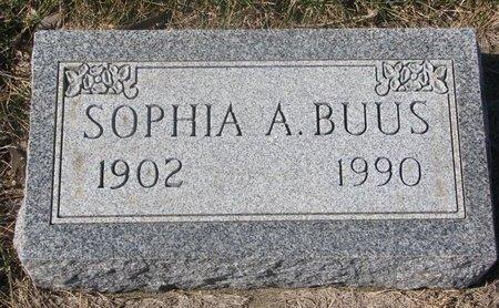 BUUS, SOPHIA A. - Charles Mix County, South Dakota | SOPHIA A. BUUS - South Dakota Gravestone Photos
