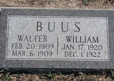 BUUS, WILLIAM - Charles Mix County, South Dakota | WILLIAM BUUS - South Dakota Gravestone Photos