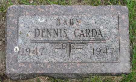 CARDA, DENNIS - Charles Mix County, South Dakota | DENNIS CARDA - South Dakota Gravestone Photos