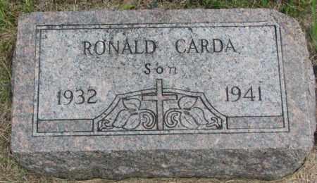CARDA, RONALD - Charles Mix County, South Dakota | RONALD CARDA - South Dakota Gravestone Photos