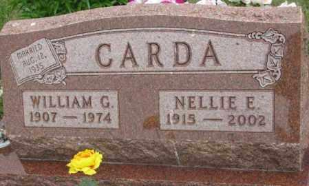 CARDA, NELLIE E. - Charles Mix County, South Dakota   NELLIE E. CARDA - South Dakota Gravestone Photos