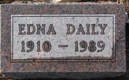 DAILY, EDNA - Charles Mix County, South Dakota | EDNA DAILY - South Dakota Gravestone Photos