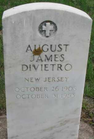 DIVIETRO, AUGUST JAMES - Charles Mix County, South Dakota | AUGUST JAMES DIVIETRO - South Dakota Gravestone Photos