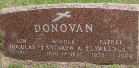 DONOVAN, KATHRYN A. - Charles Mix County, South Dakota | KATHRYN A. DONOVAN - South Dakota Gravestone Photos