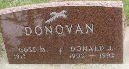 DONOVAN, ROSE M. - Charles Mix County, South Dakota | ROSE M. DONOVAN - South Dakota Gravestone Photos