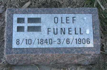 FUNELL, OLEF - Charles Mix County, South Dakota   OLEF FUNELL - South Dakota Gravestone Photos