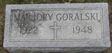 GORALSKI, MARJORY - Charles Mix County, South Dakota   MARJORY GORALSKI - South Dakota Gravestone Photos