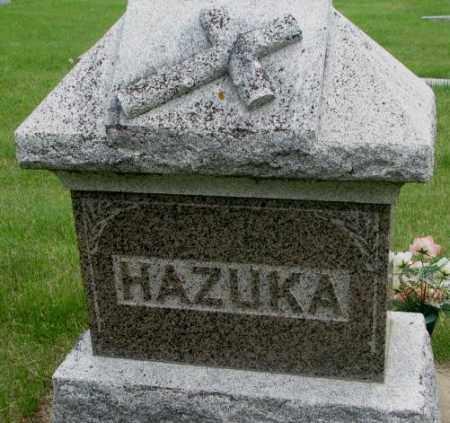 HAZUKA, FAMILY PLOT MARKER - Charles Mix County, South Dakota | FAMILY PLOT MARKER HAZUKA - South Dakota Gravestone Photos