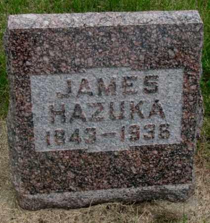 HAZUKA, JAMES - Charles Mix County, South Dakota | JAMES HAZUKA - South Dakota Gravestone Photos