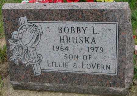 HRUSKA, BOBBY L. - Charles Mix County, South Dakota | BOBBY L. HRUSKA - South Dakota Gravestone Photos