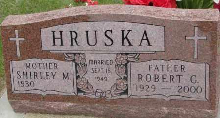 HRUSKA, SHIRLEY M. - Charles Mix County, South Dakota   SHIRLEY M. HRUSKA - South Dakota Gravestone Photos