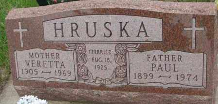 HRUSKA, VERETTA - Charles Mix County, South Dakota | VERETTA HRUSKA - South Dakota Gravestone Photos