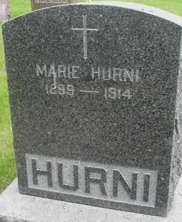 HURNI, MARIE - Charles Mix County, South Dakota | MARIE HURNI - South Dakota Gravestone Photos