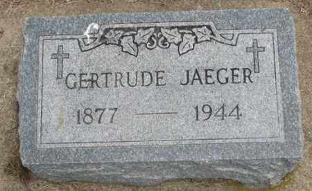 JAEGER, GERTRUDE - Charles Mix County, South Dakota | GERTRUDE JAEGER - South Dakota Gravestone Photos