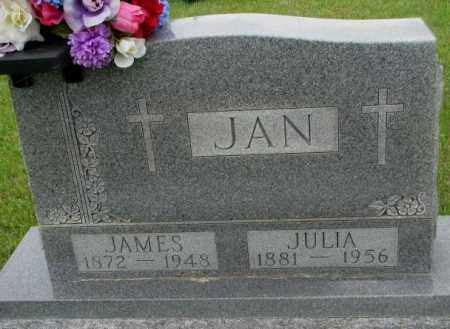 JAN, JAMES - Charles Mix County, South Dakota | JAMES JAN - South Dakota Gravestone Photos