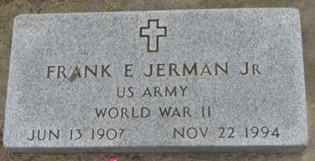 JERMAN, FRANK E. JR. - Charles Mix County, South Dakota | FRANK E. JR. JERMAN - South Dakota Gravestone Photos