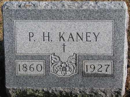 KANEY, P.H. - Charles Mix County, South Dakota | P.H. KANEY - South Dakota Gravestone Photos