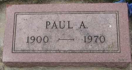 KERN, PAUL A. - Charles Mix County, South Dakota | PAUL A. KERN - South Dakota Gravestone Photos