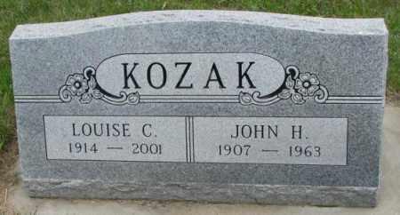 KOZAC, JOHN H. - Charles Mix County, South Dakota | JOHN H. KOZAC - South Dakota Gravestone Photos