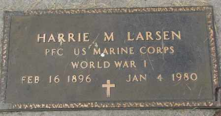 LARSEN, HARRIE M. - Charles Mix County, South Dakota | HARRIE M. LARSEN - South Dakota Gravestone Photos