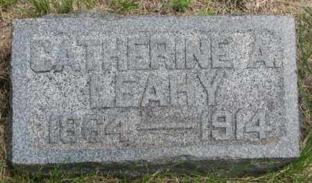 LEAHY, CATHERINE A. - Charles Mix County, South Dakota | CATHERINE A. LEAHY - South Dakota Gravestone Photos