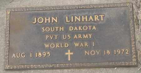 LINHART, JOHN - Charles Mix County, South Dakota | JOHN LINHART - South Dakota Gravestone Photos