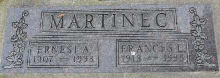 MARTINEC, ERNEST A. - Charles Mix County, South Dakota | ERNEST A. MARTINEC - South Dakota Gravestone Photos