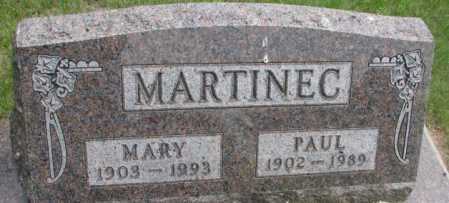 MARTINEC, MARY - Charles Mix County, South Dakota | MARY MARTINEC - South Dakota Gravestone Photos