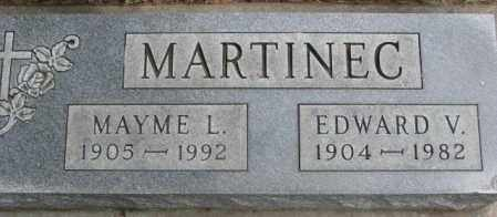 MARTINEC, MAYME L. - Charles Mix County, South Dakota | MAYME L. MARTINEC - South Dakota Gravestone Photos
