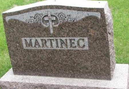 MARTINEC, PLOT - Charles Mix County, South Dakota | PLOT MARTINEC - South Dakota Gravestone Photos