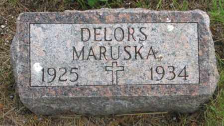 MARUSKA, DELORS - Charles Mix County, South Dakota | DELORS MARUSKA - South Dakota Gravestone Photos