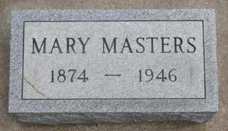 MASTERS, MARY - Charles Mix County, South Dakota   MARY MASTERS - South Dakota Gravestone Photos