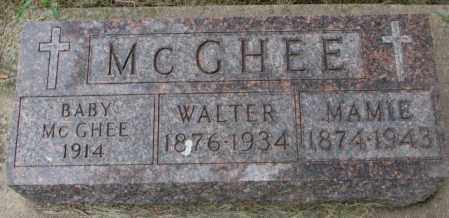 MCGHEE, MAMIE - Charles Mix County, South Dakota | MAMIE MCGHEE - South Dakota Gravestone Photos
