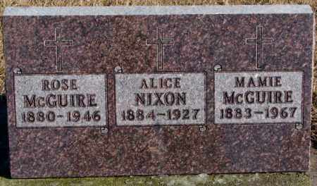 MCGUIRE, MAMIE - Charles Mix County, South Dakota | MAMIE MCGUIRE - South Dakota Gravestone Photos